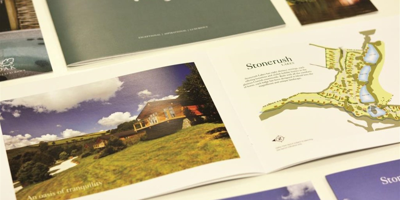 Charteroak Lodges Brochure Design
