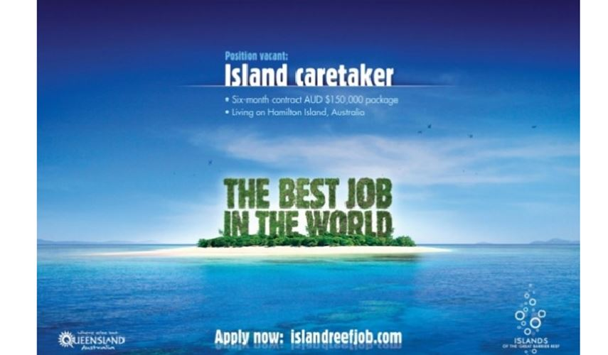 Best job in the world - PR campaign