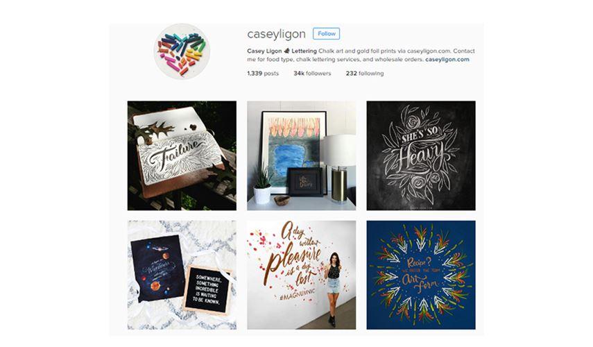 Casey Ligon - Creative Instagram