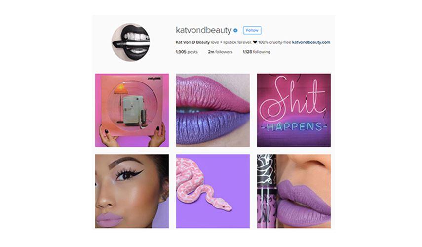 Kat Von D Beauty - Creative Instagram