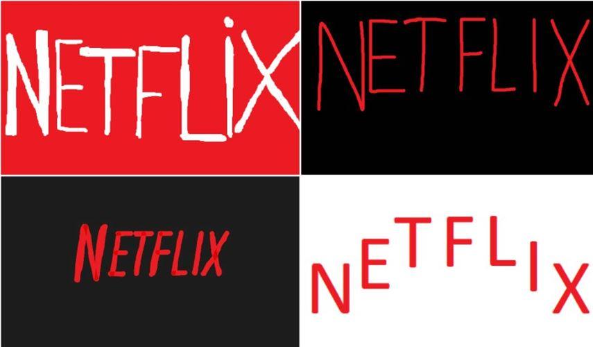 Netflix logo - memory