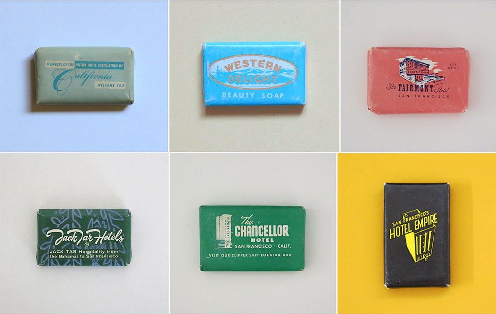 Vintage Soap Collection
