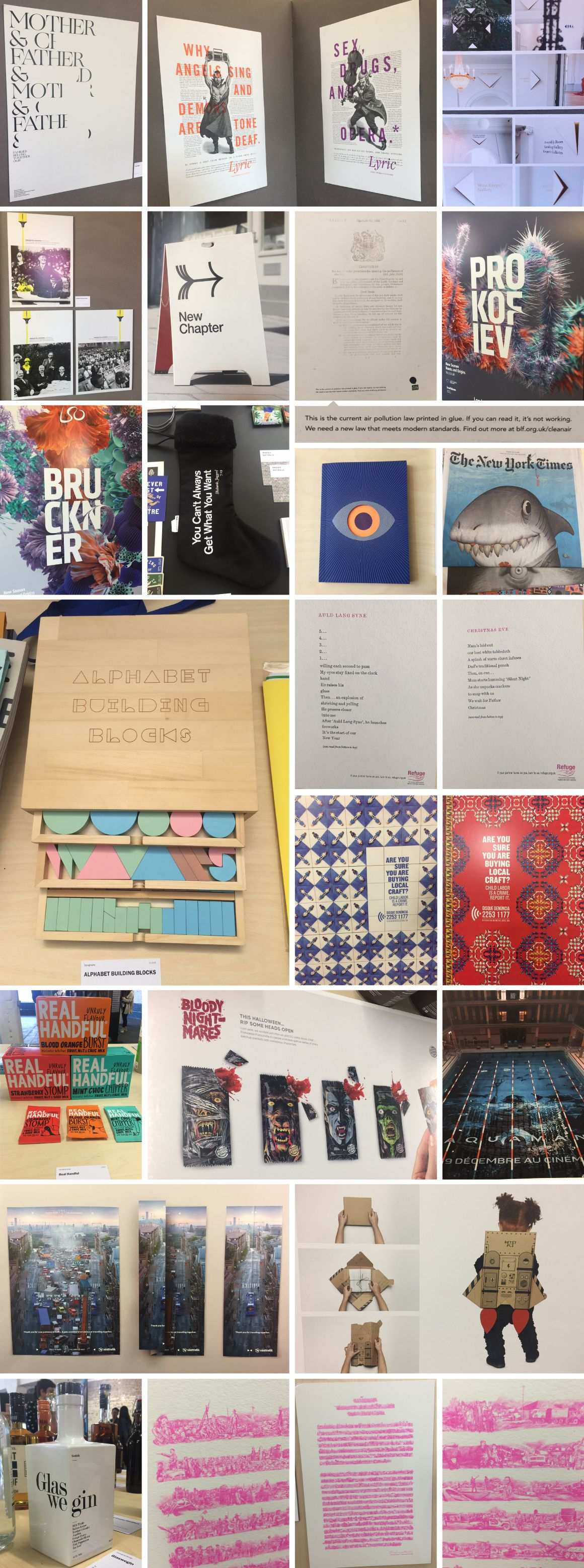 inspirational design collage