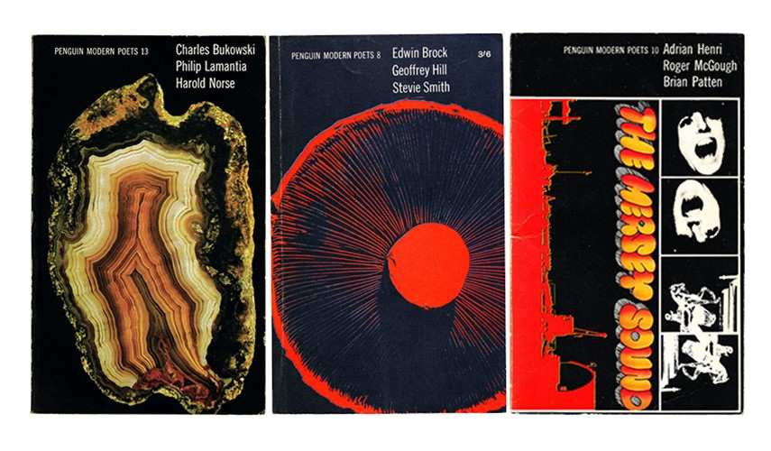 penguin modern poet covers collage