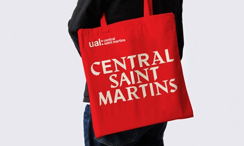 Central Saint Martins typography