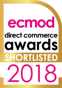 Shortlisted logo - Direct Commerce Awards 2018